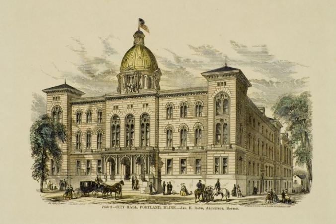 Portland City Hall JHRand
