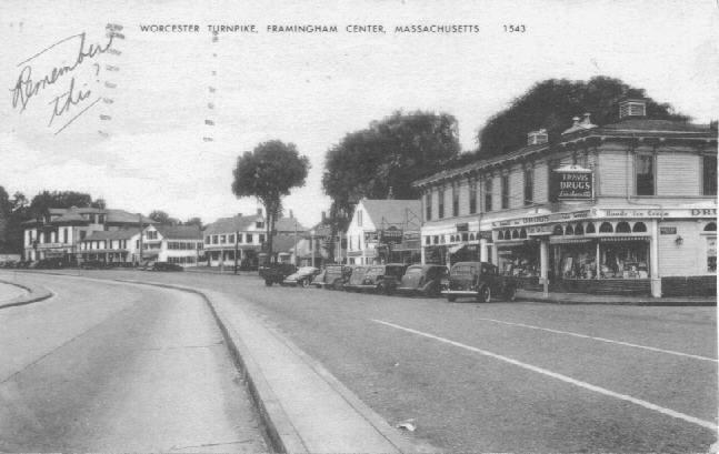 turnpike Framingham