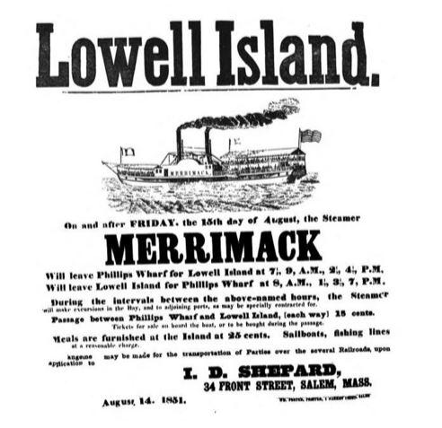 Lowell Island Ad