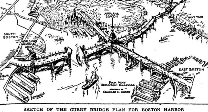 Curry Bridge Plan Globe 11-29-1929